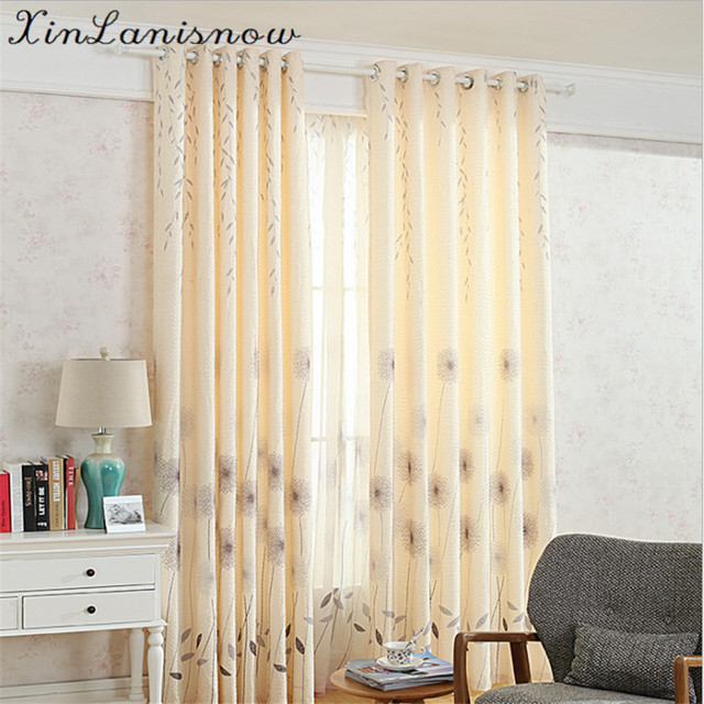 Snowflake Velvet Hand Drawn And Printed Tulle Blackout Curtains For Kitchen  Living Room Bedroom Sitingroom Window