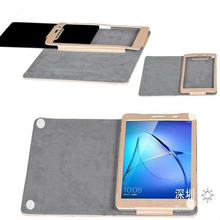 ocube DHL/EMS Stand Silk Print Pattern PU Leather Cases Cover For Huawei MediaPad T3 8 8.0 KOB-L09 KOB-W09 8 inch Tablet PC