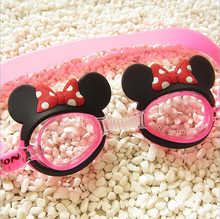Male and female children Swim eyewear Waterproof and anti fog  Big box Swimming goggles Diving cartoon swimming glasses