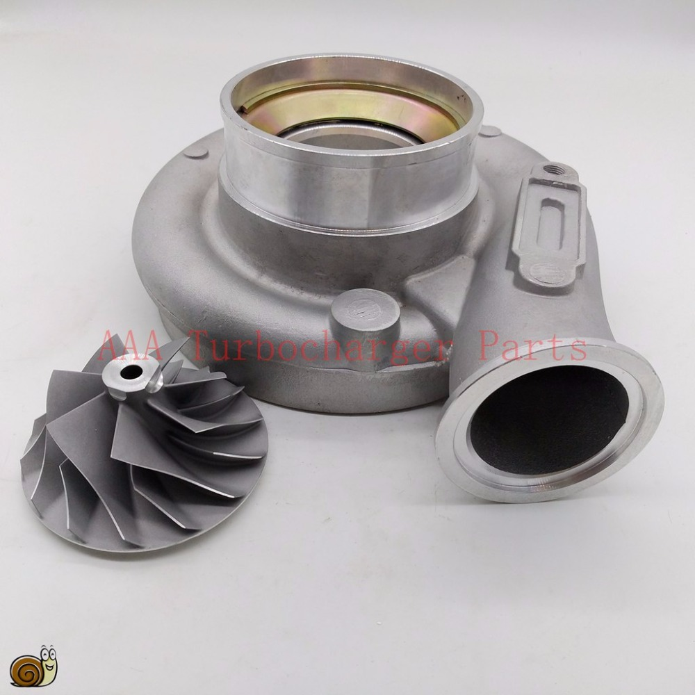 Holset HX40W Turbo Compressor wheel and housing suit wheel size 60x86 supplier AAA Turbocharger Parts k16 turbo billet compressor wheel 44 3x63 4mm 5316 970 7010 5316 970 7013 9040964299 9040965299 aaa turbocharger parts