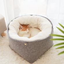 Pet Bed Cat House Dog for Warm Beds Dogs Houses Cats Pets Products Puppy Soft Comfortable