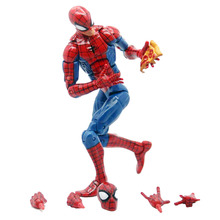 Pizza Spiderman Legends Infinite Series Toy Spider Man Super Hero Action Figure Model Toys for Christmas Children Gift 2017 dc comics spiderman 18cm green goblin baf legends infinite series loose action figure baby toys