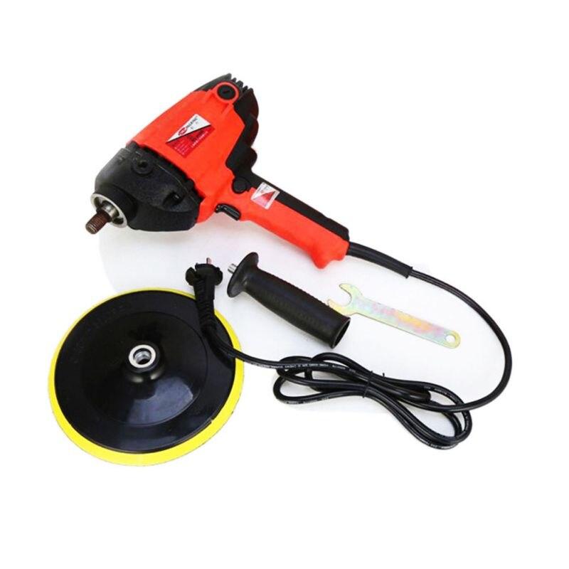 900 W Auto Polijsten Auto Waxen Machine 2000R Elektrische Gloss Tool Power Voor Kras Verwijderen Schoonheid Auto Care Reparatie Polijstmachine gereedschap - 6