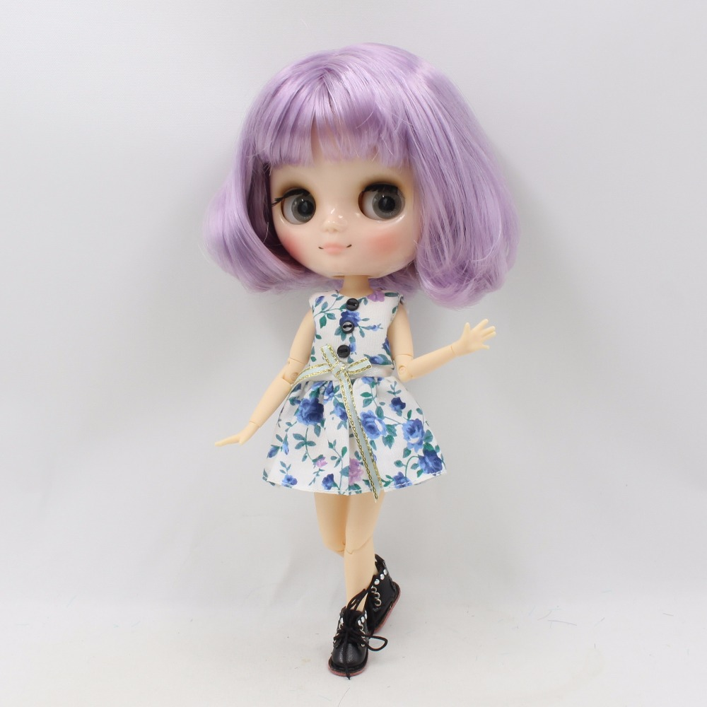 Middie Blythe Doll with Purple Hair, Tilting-Head & Jointed Body 2