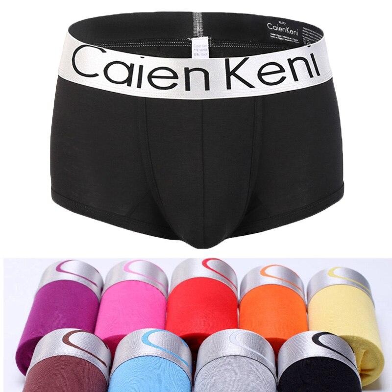 10Pcs/Lot Cotton Shorts Men Breathable Underwear Soft Boxers Men Solid Boxer Shorts Plus Size Boxers For Mens Underwear Panties