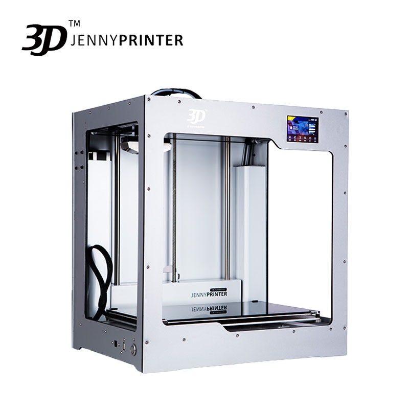 2019 Big Size JennyPrinter4 X340 Single Or Dual Extruder Auto Level 3D Printer DIY KIT For
