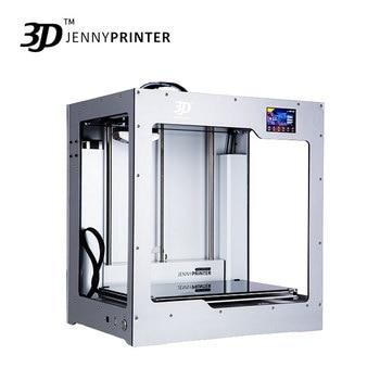 ¡2019 tamaño grande! JennyPrinter4 X340 extrusora simple o Dual de nivel automático 3D impresora DIY KIT para Ultimaker 2 UM2 + extendido