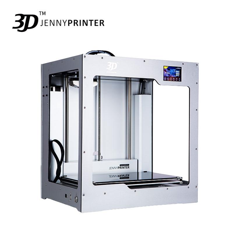 2019 grande taille! JennyPrinter4 X340 simple ou double extrudeuse niveau automatique 3D imprimante kit de bricolage pour Ultimaker 2 UM2 + étendu