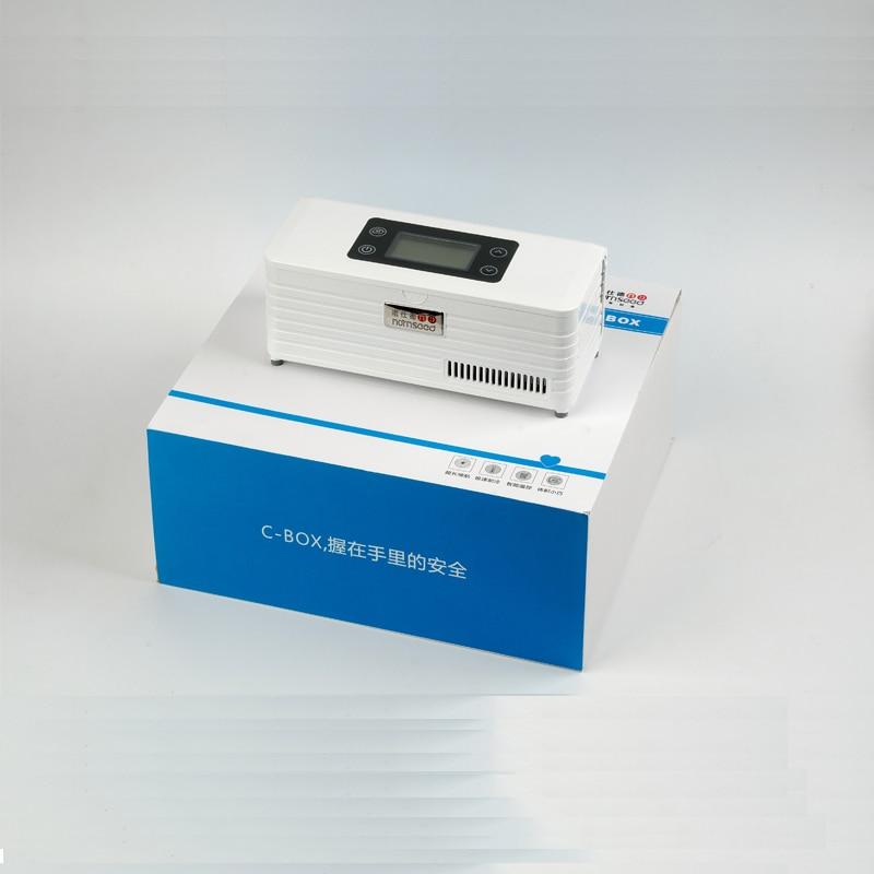 Thermoelectric small refrigerator display freezer fridge battery operated dison insulino portebla insulino refrigerator