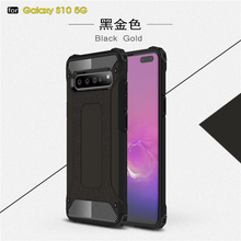 For Samsung Galaxy S10 5G Case 6.7 Shockproof Armor Rubber Phone Cover