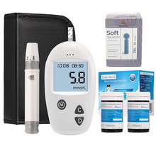 (mg/dL VS mmol/L)Sinocare Safe-Accu Blood Glucose Meter &100 Test Strips Lancet Glm Exact Glucometer Diabetes Tester Sugar Meter safe third country vs non refoulment