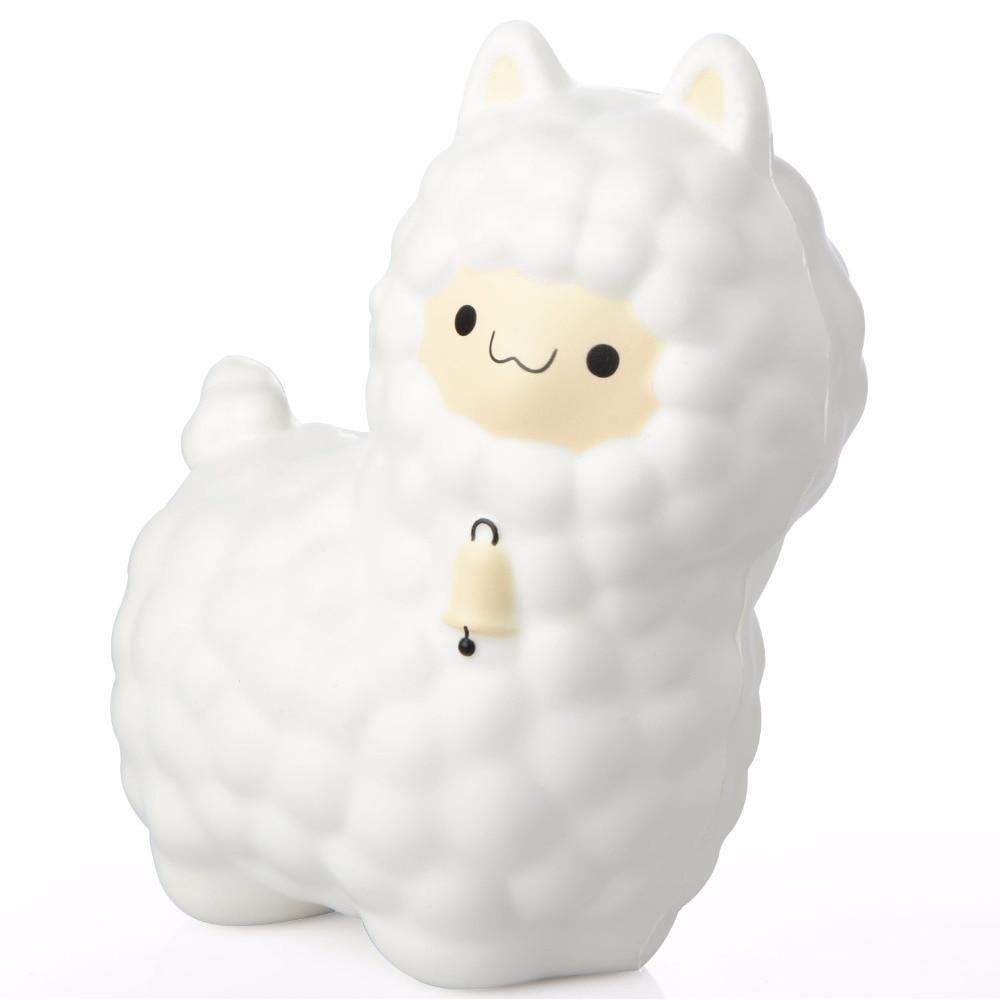 Hot Sale 16CM Alpaca Cute Squishy Slow Rising Alpaca Animal Phone Straps Keychain Toy Kids Jumbo Squishy Toys Dropshipping