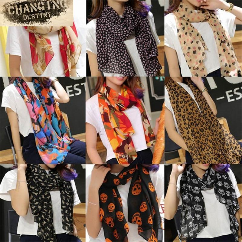 170*65 Cm 20 Color Women's Scarves s
