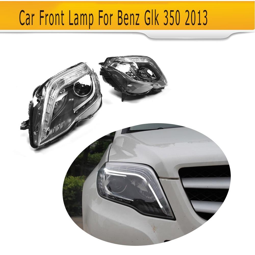 Left Hand Driving Car headlamp auto car front lamp for Mercedes glk 350 2013 2pcs left