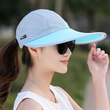 SORRYNAM Summer Hat Women UV Protection Wide Brim Baseball Cap Mesh Ladies Hat Tennis Fishing Beach Sun Hats Men Casquette Homme