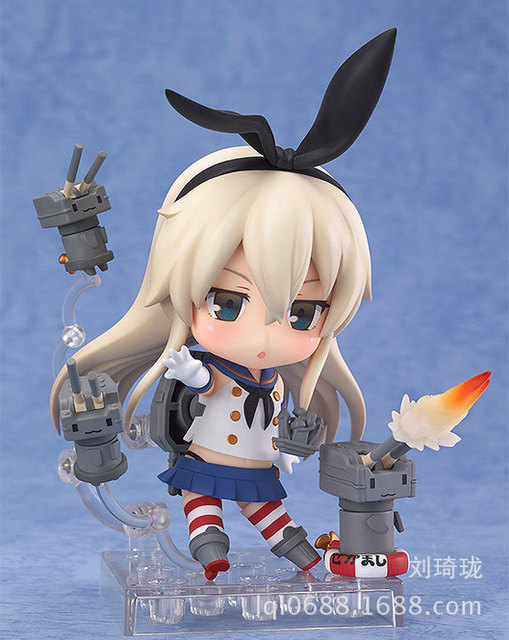 Nendoroid Kantai Collection Shimakaze #371 Action Figures Anime PVC brinquedos Collection Model toys with retail box