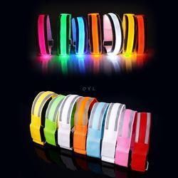 Светоотражающие повязка на плечо со светодиодным фонарем ремень безопасности ремень для ночного катания, бега