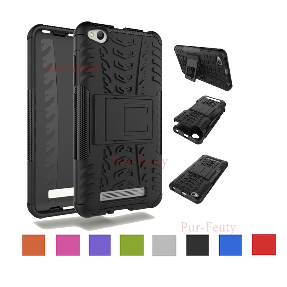 Case for Xiaomi Redmi 4A Redmi4 A Armor Hard PC With TPU Phone Case for Xiaomi Redmi <font><b>A4</b></font> Red <font><b>mi</b></font> 4A Protector Silicon Back Cover image