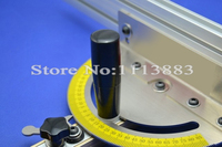 Miter Gauge for Bandsaw/Table Saw/Router Table (No T track included in the set)