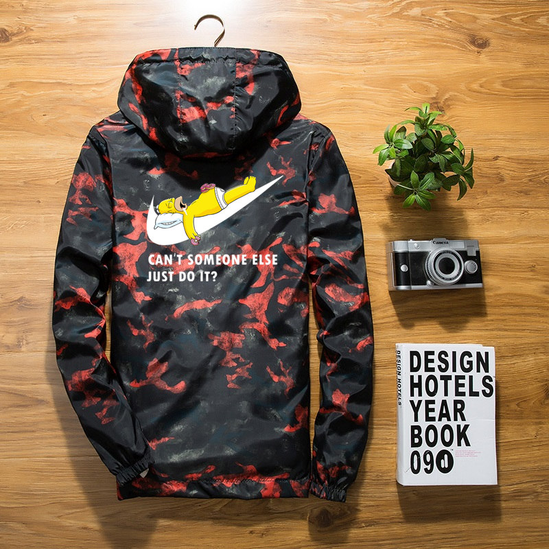 New 2018 Autumn winter jacket men thin jackets men casual lover jacket hip hop windbreaker hooded