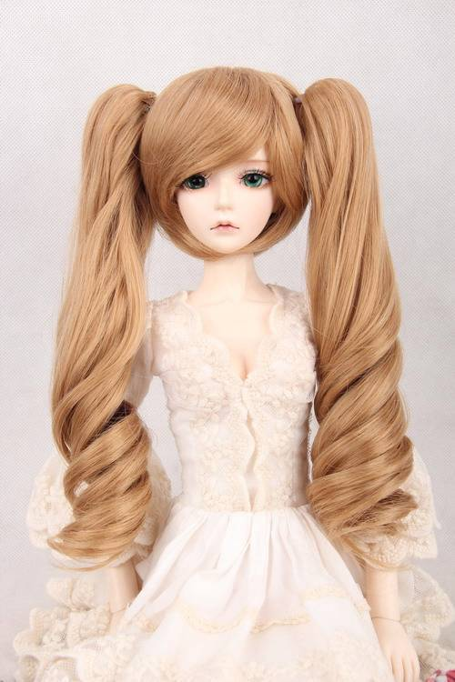 [wamami] 97# Short Wig With Wave Hair  1/3 BJD Doll SD AOD DOD DZ Dollfie 8-9 купить