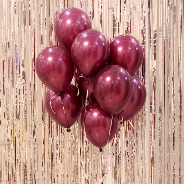 Solid Latex Ballon Set 10 Pcs