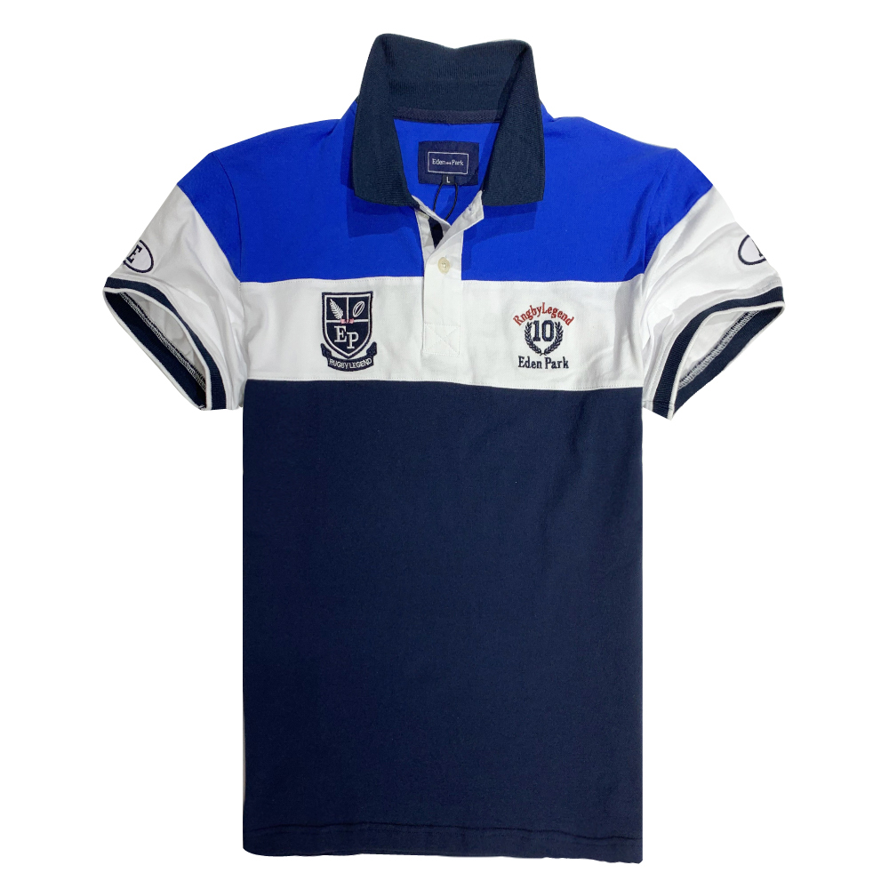 2019 NEW MEN   POLO   SHORT SLEEVE SERIGE EDEN PARK FOR SUMMER DESIGN FAMAOUS EMBROIDERY WITH HIGH QUALITY MATERIAL SPECIAL PATTERN