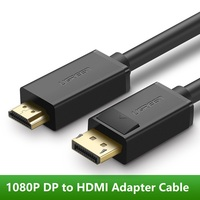 DP To HDMI Cable Displayport To HDMI Adapter Converter M M Video Audio Cable For HDTV