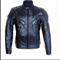 Racing Motorcycle Leather Jacket Winter Motorbike Clothing Protector Waterproof Moto PU Leather Motor Jacket