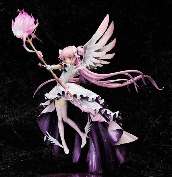 Anime Puella Magi Madoka Magica Kaname Vleugel Jurk God Engel Versie 33 Cm Pvc Action Figure Pop Speelgoed In