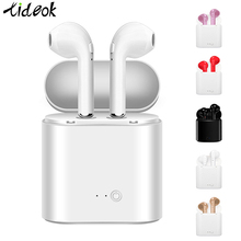 Bluetooth Earphone I7s TWS Stereo Earbud Bluetooth Headset with Charging Pod Wir