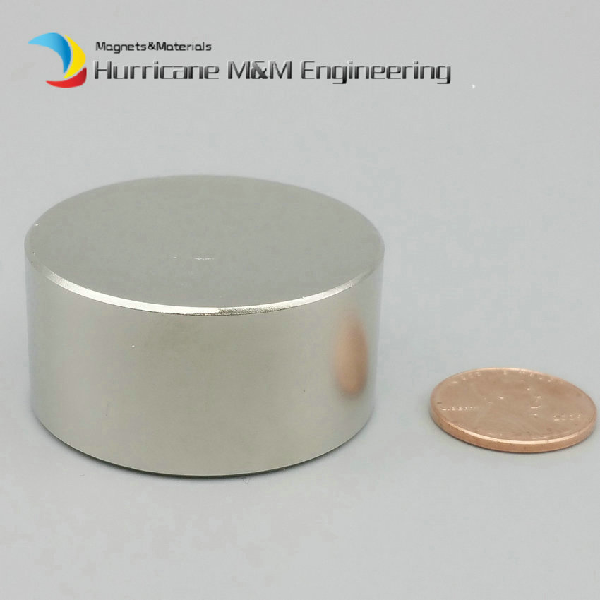 1 Pack NdFeB Disc Magnet Dia. 40x20 (+/-0.1)mm thick water filter Tool Holding strong Neodymium Permanent Magnets NiCuNi Plated 2pcs mounting magnetic disc diameter 88 mm led light holding spotlight holder male thread ndfeb magnet strong neodymium magnet