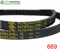 139QMB Gates Powerlink 669 18 1 30 CVT Drive Belt 669 18 1 30 Drive Belt