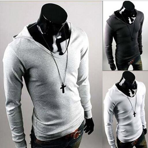 man autumn spring 2016 new fashion England style hoodies & sweatshirts long sleeve fitness casual t camiseta tops & tees t-shirt