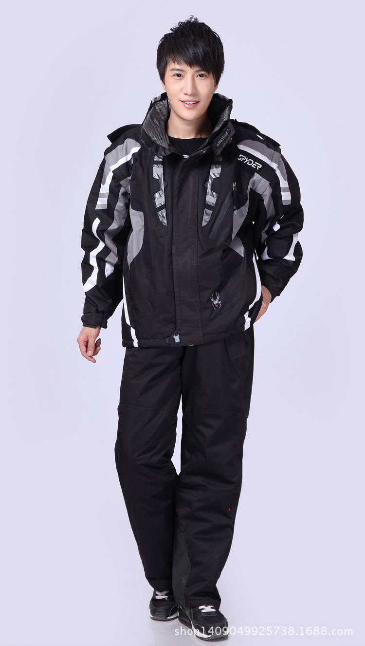 Ski Suit Men Winter Spider Thermal Waterproof Windproof Snow Pants Ski Jacket Men Set Skiing And Snowboarding Suits Brands