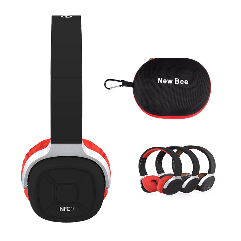 New Bee NB 9 Wireless Bluetooth headphones Stereo Bluetooth 4 1 Headset Support NFC with Built