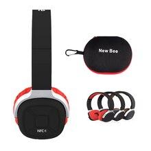 Nueva Abeja NB-9 Soporte NFC Inalámbrica Bluetooth auriculares Estéreo Bluetooth 4.1 Auriculares con Una Función de APLICACIÓN Podómetro para Running