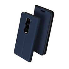 Leather Case for OnePlus 7 pro Cover Slim Magnetic Duty Protective Kickstand Fundas with Credit Card Slot Oneplus 7 Flip Case