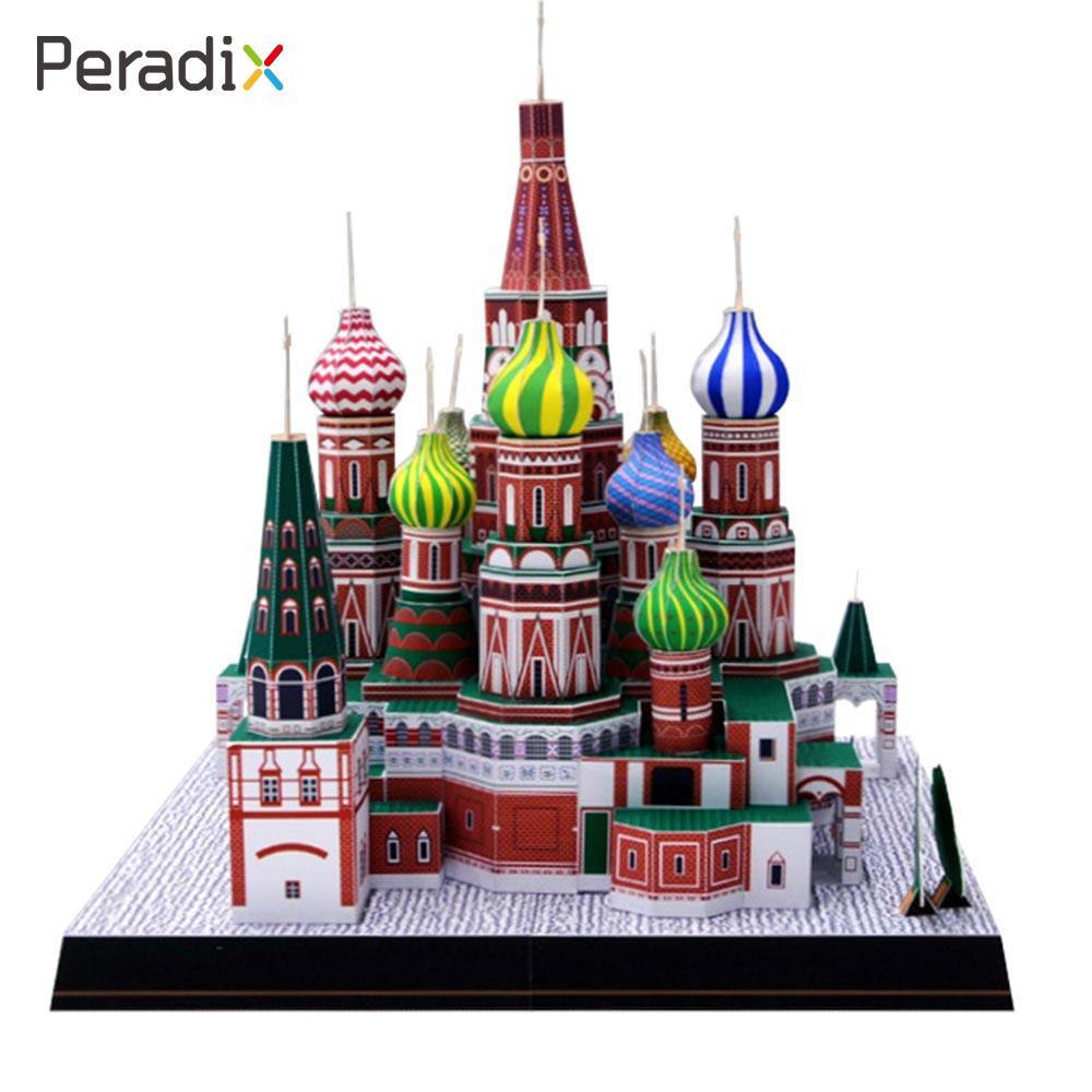 Church Paper Model 3D Architecture Model