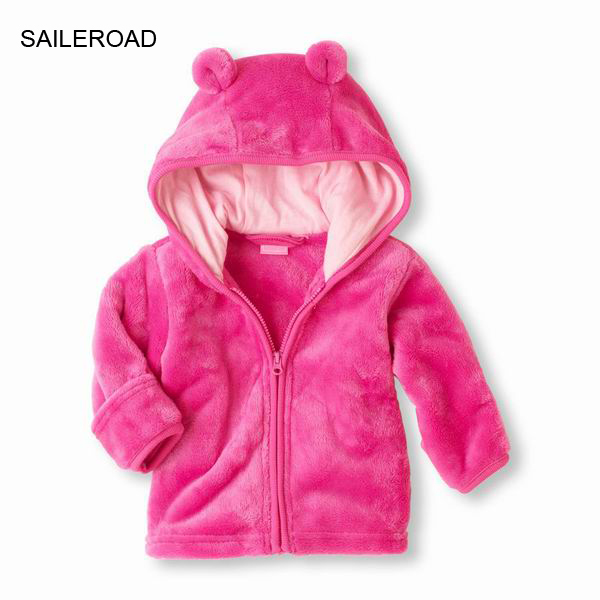 SAILEROAD 6-24Months Autumn Baby Boys Girls Jacket Coat Winter Newborn Infants Clothing Cute Baby Clothes For Outerwear Girls