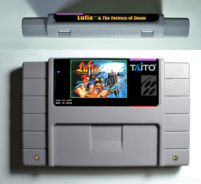 Lufia Series Games Lufia Fortress of Doom or Lufia 2 Rise of the Sinistrals - RPG Game Cartridge Battery Save US Version