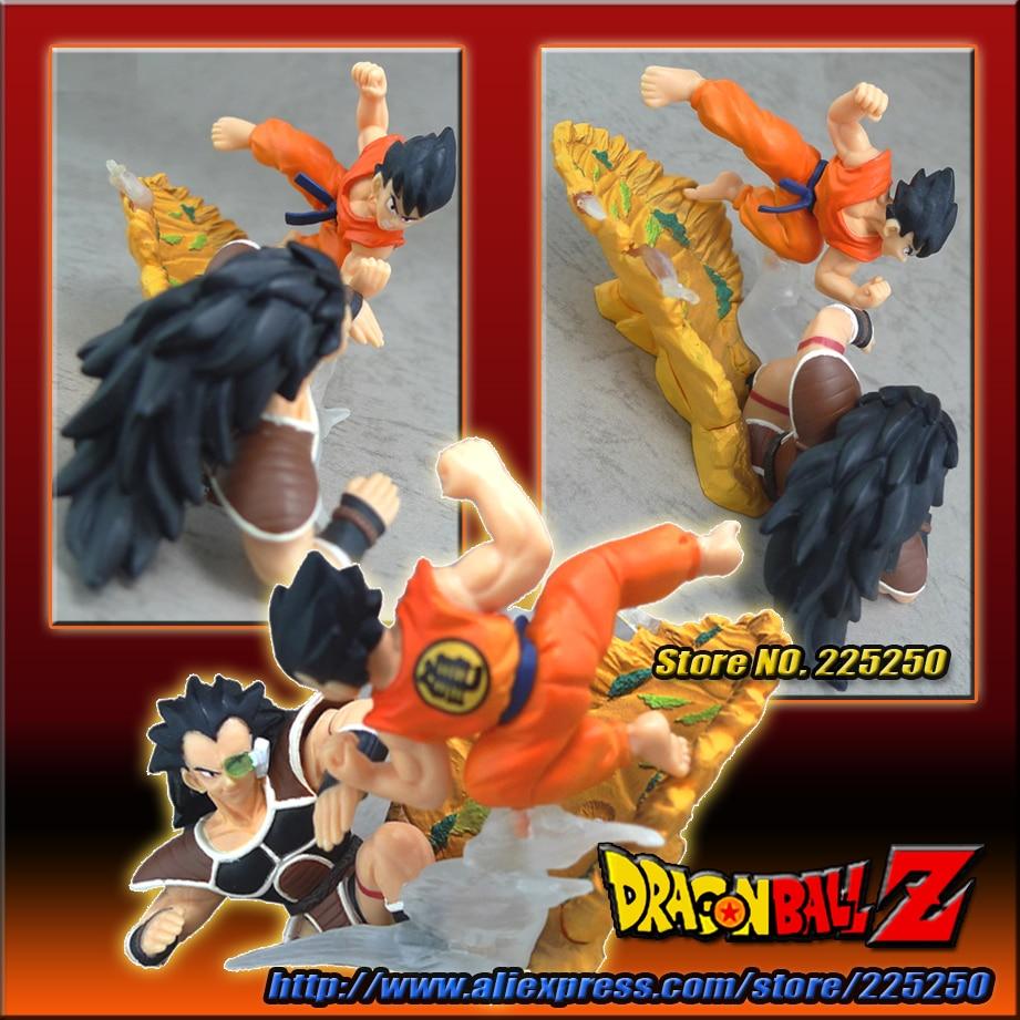Figurine Dragon Ball Z Gashapon Imagination figure 8 Sangoku vs Raditz