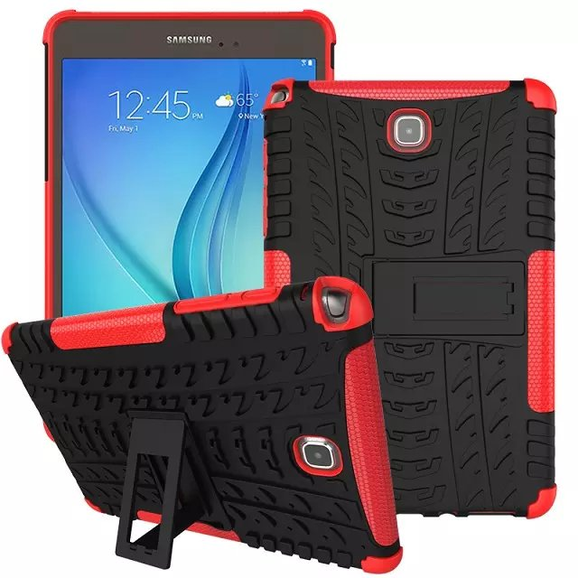 Children Shockproof Heavy Duty Rubber Hard Case Cover For Samsung Galaxy Tab A 8.0 SM-P350 P355 Drop Proof Tablet Hard Shell armor kickstand case funda for samsung galaxy tab s3 9 7 sm t820 sm 825 case cover tablet safe shockproof heavy duty stand shell