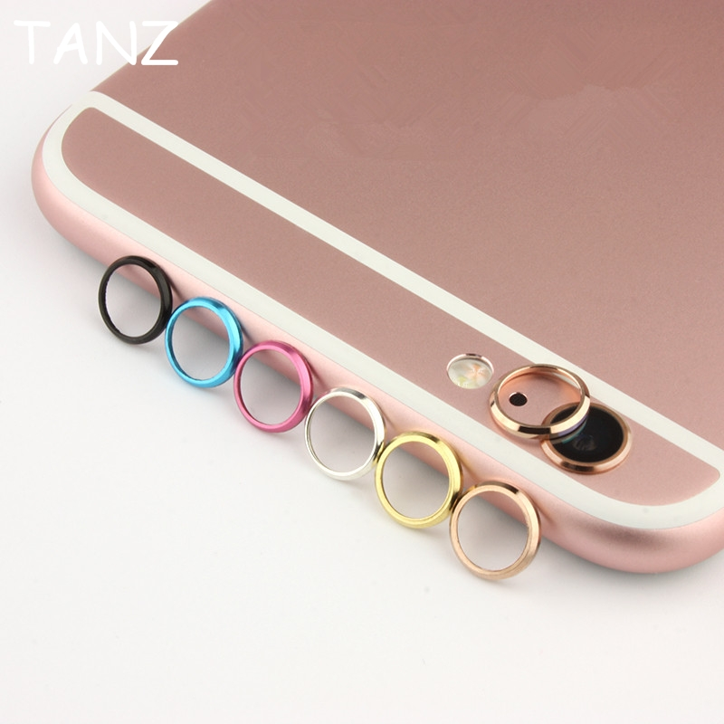Rear Camera Lens Protective Ring Cover Protector Protection For iPhone 6 6S plus 6plus Metal Case