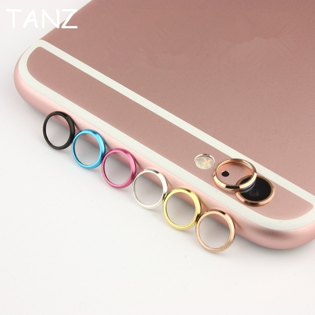 wholesale dealer 7a4fe 6a218 US $0.78 30% OFF|Rear Camera Lens Protective Ring Cover Protector  Protection For iPhone 6 6S plus 6plus Metal Case Luxury Mobile Phone  Accessori-in ...