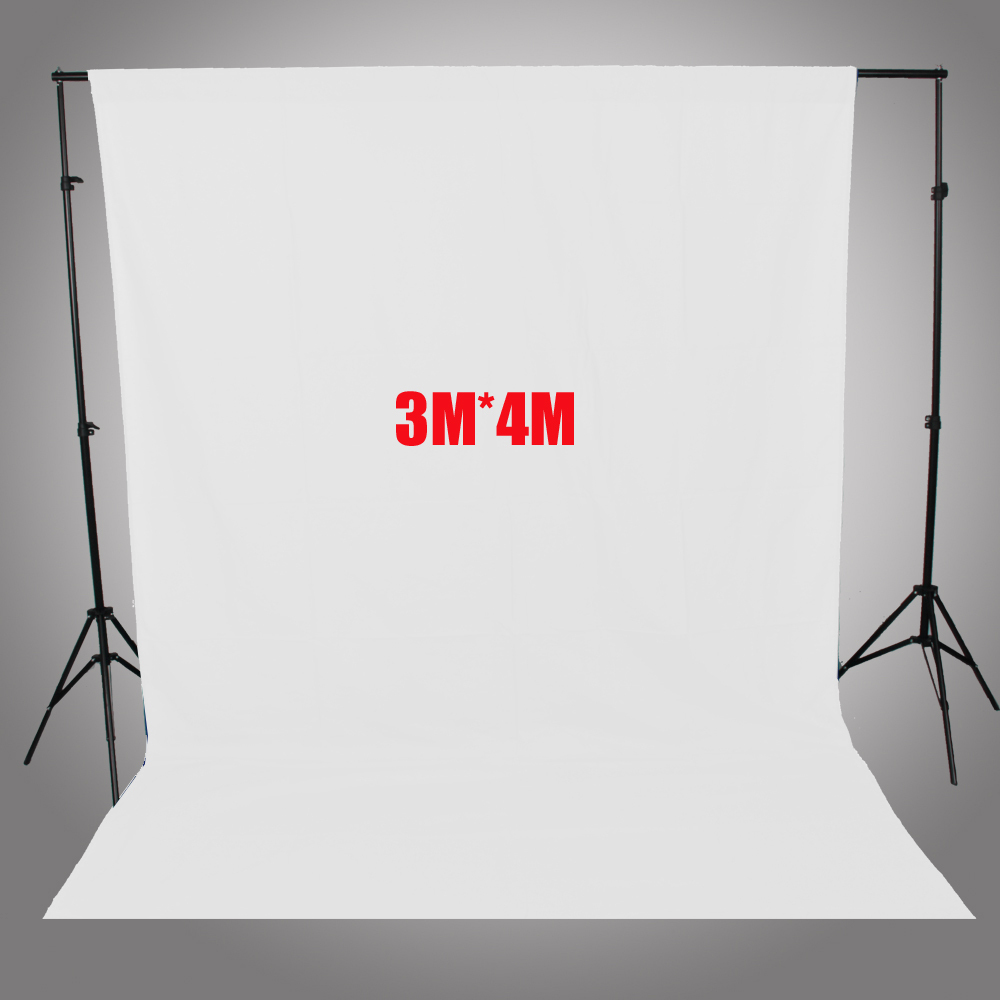 ASHANKS Photography Backdrops White Screen 3*4m Solid Background for Photo Studio 10FT*13FT Backdrop   for Camera Fotografica ashanks photography backdrops 10ft x 13ft fabric cloth chromakey backgrounds porta retrato for dslr photo studio