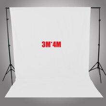 ASHANKS Фотографии Фонов Белый Экран 3*4 м Сплошной Фон для Фотостудии 10FT * 13FT Фоне для Камеры Fotografica