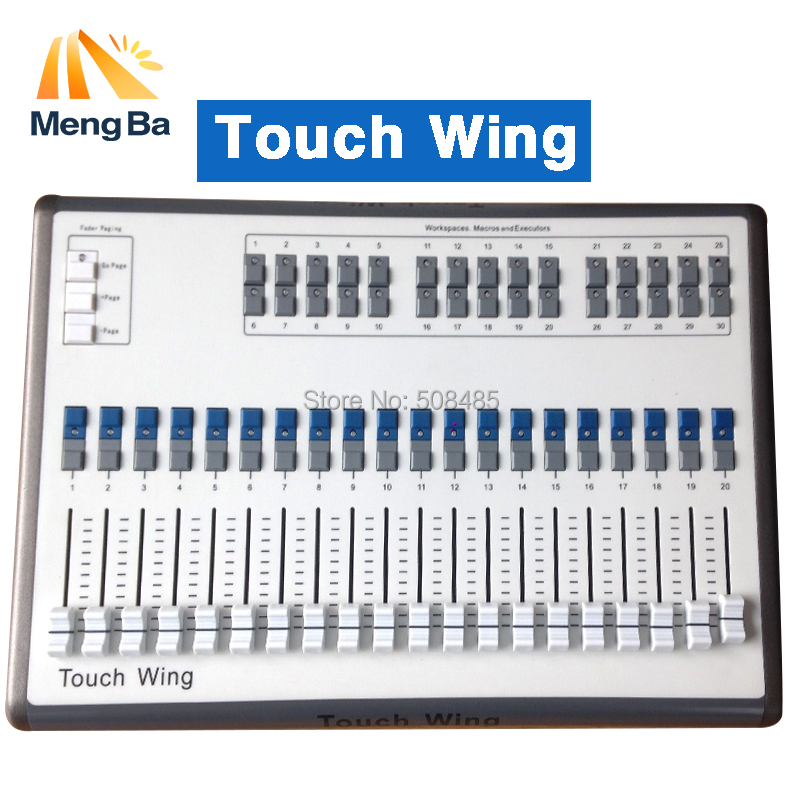 Touch Wing Light DMX Console DMX Controller Support All Titan Console Touchwing Tiger Touch Wing DMX Console dmx512 digital display 24ch dmx address controller dc5v 24v each ch max 3a 8 groups rgb controller