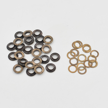 (100 pieces/lot) 8mm eyelets Corn deduction. Hollow rivets. Paint color eyele Metal eyelets. Handmade DIY accessories