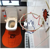 Funny Toilet Basketball Game Gadget Prank Gift For Basketball Lovers Free Shipping